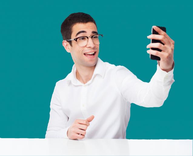 Bildtelefon Service Gebärdensprachdolmetscher
